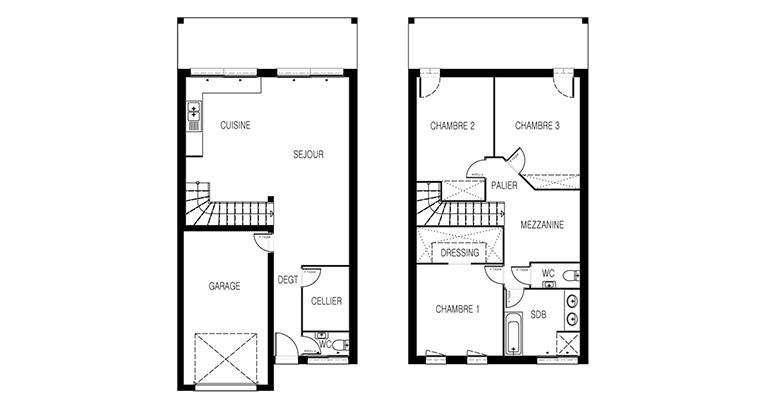 Mousson 105 M 3 Chambres Maisons De L Atlantique