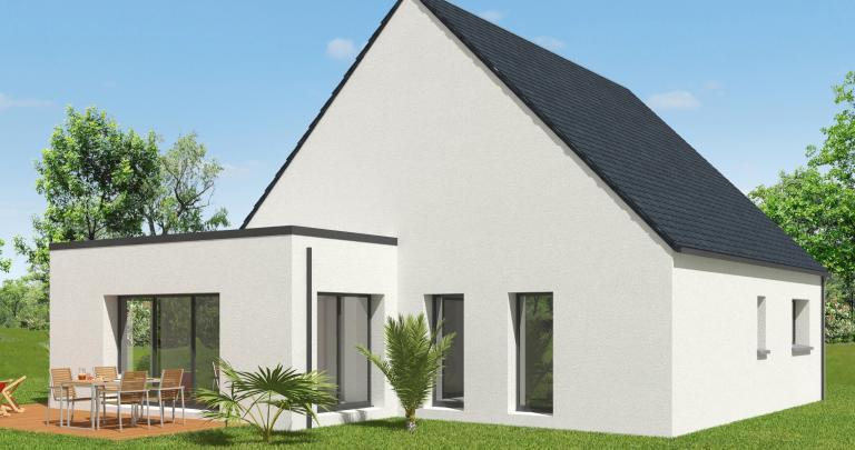 Constructeur maison traditionnelle Loire Atlantique   Modèle maison 3 chambres