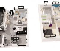 maison Etésien intérieur 3 d maisons de l'atlantique
