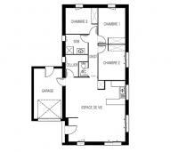 maison maloja plan 2d Maisons de l'Atlantique