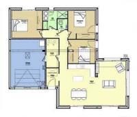 Constructeur maison traditionnelle Loire Atlantique   Plan maison 3 chambres
