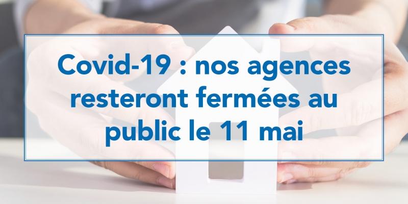 Covid-19 : attente réouverture agences