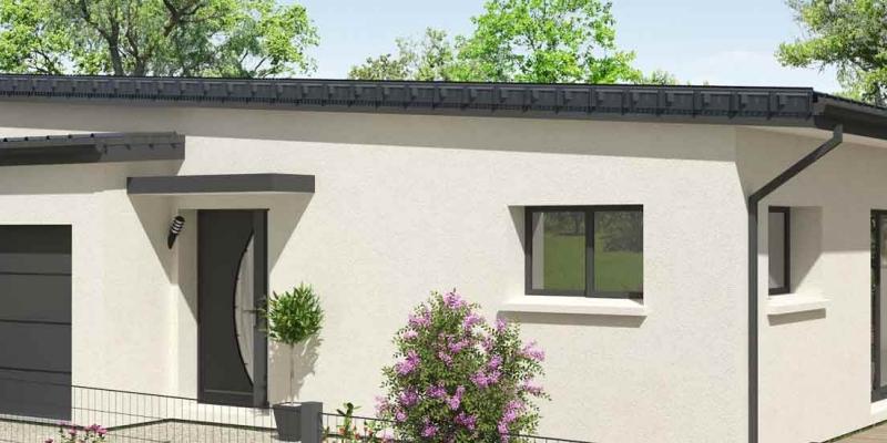 maison moderne avec garage à La Turballe en Loire-Atlantique près de Guérande