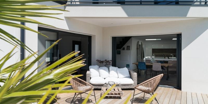 Terrasse construction maison 44
