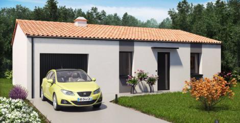 Maison moderne plain-pied | Constructeur 44 Maisons de l'Atlantique