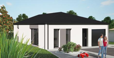 Maison plain-pied contemporaine Loire Atlantique | Constructeur Maisons de l'Atlantique