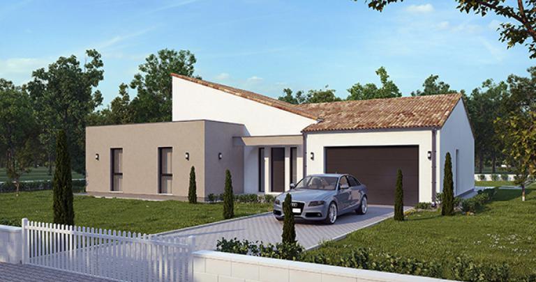 Maison moderne Bolon maisons de l'atlantique