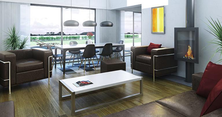 Intérieur maison moderne Bolon