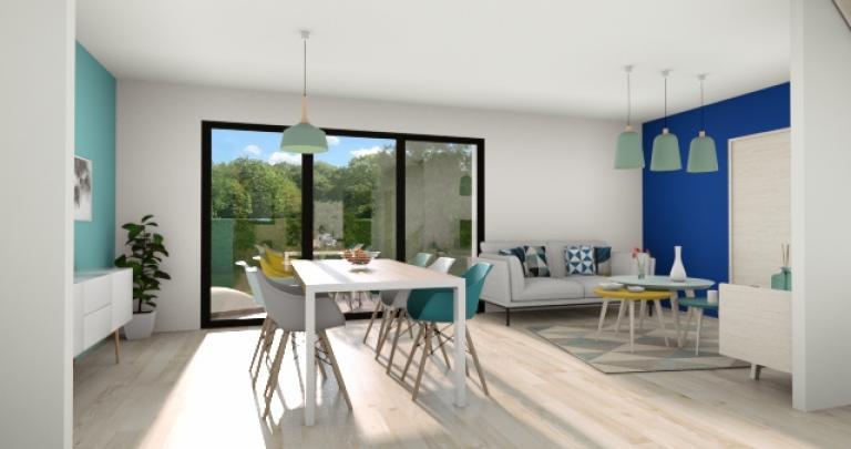 Rez de chaussée maison évolutive | Constructeur maison 44