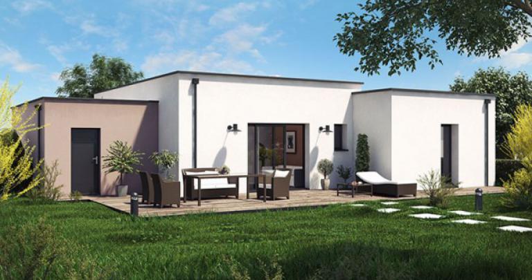 Maison contemporaine | Constructeur 44 Maisons de l'Atlantique