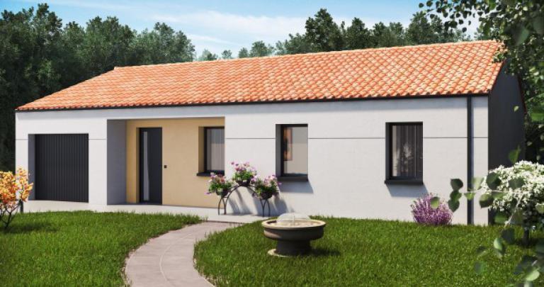Maison plain-pied moderne Sirocco | Constructeur 44 Maisons de l'Atlantique