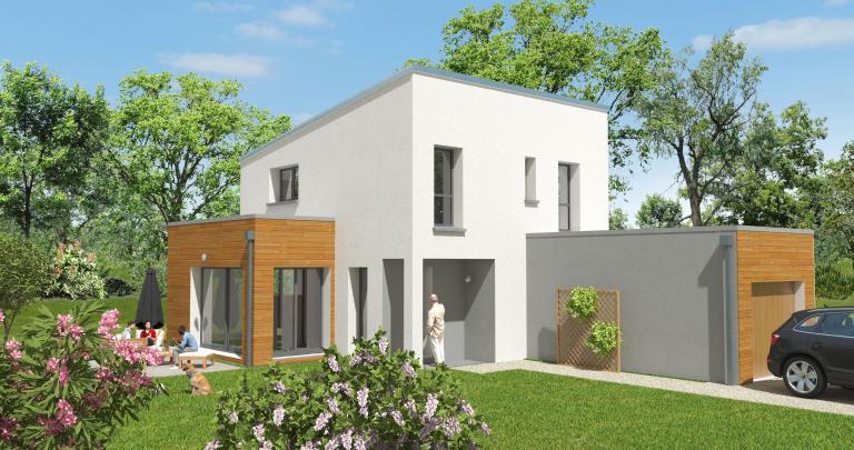 Maison moderne 3 chambres | Toit terrasse | 44