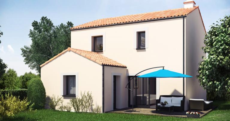 Constructeur maison individuelle Loire Atlantique | Maison Kuban à étage 3 chambres