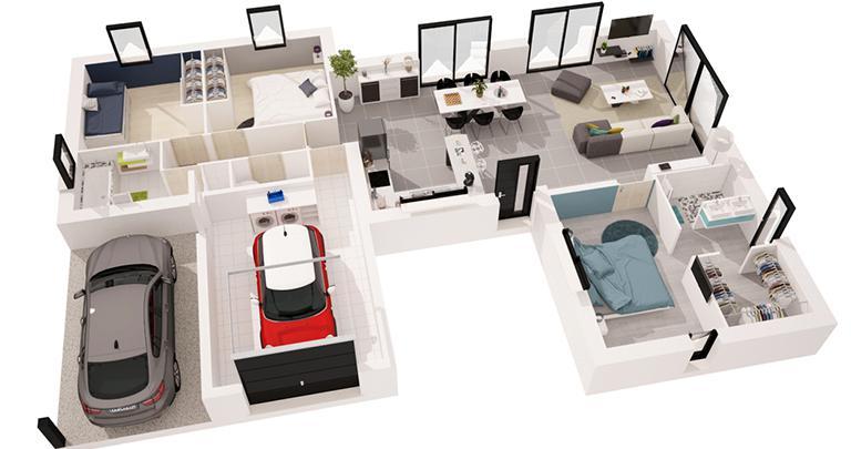 maison Morget 3d Maisons de l'Atlantique