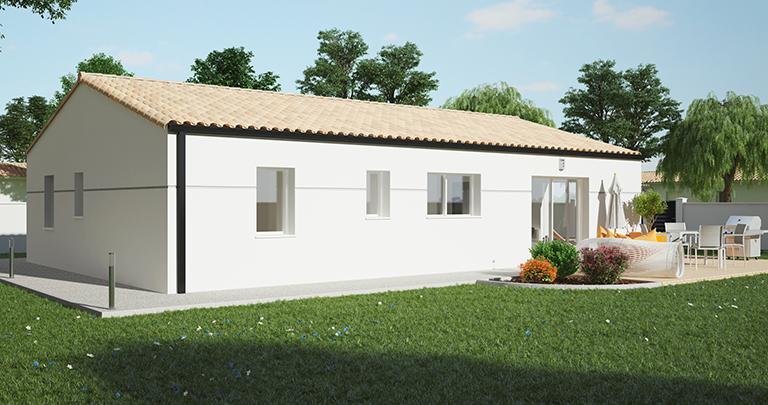 Constructeur maison moderne Loire Atlantique | Plan maison 2 chambres