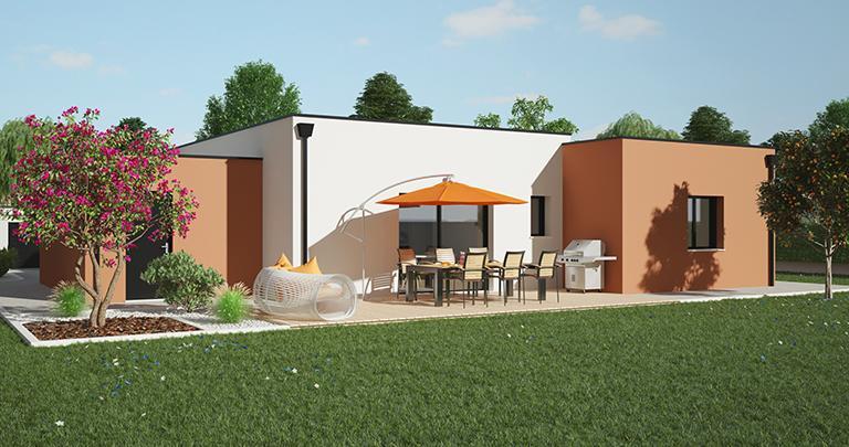 Maison contemporaine personnalisable | Constructeur 44 Maisons de l'Atlantique