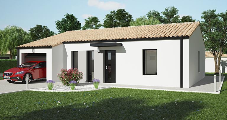 Constructeur maison Loire Atlantique | Maison plain-pied 3 chambres