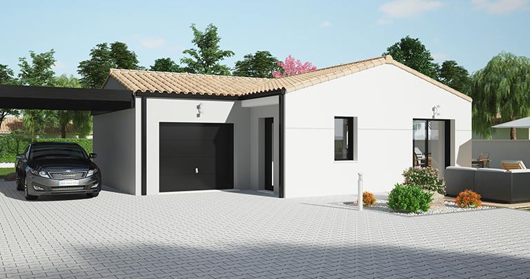 Maison Maloja moderne | Constructeur 44 Maisons de l'Atlantique