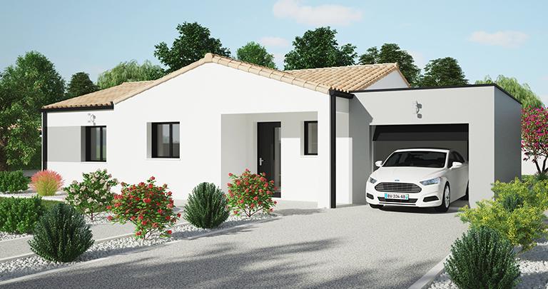 Maison plain-pied Tivano personnalisée | Maisons de l'Atlantique