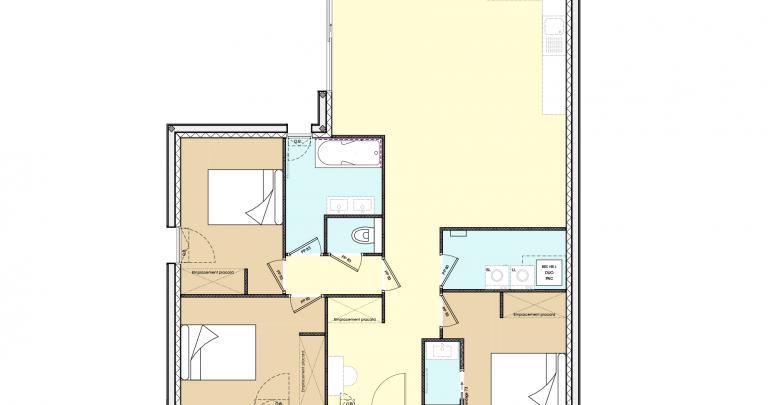 Plan maison contemporaine 3 chambre | Maisons sur-mesure en Loire Atlantique