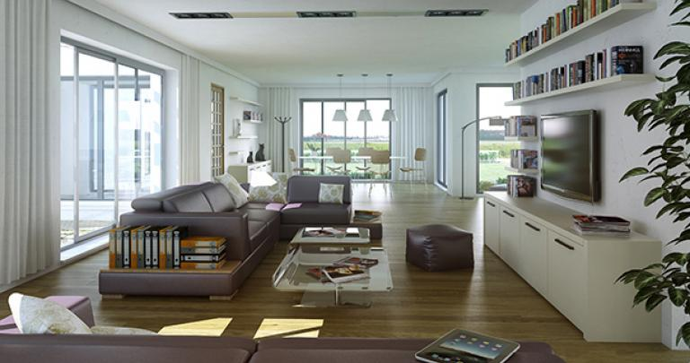 maison Austru intérieur Maisons de l'Atlantique