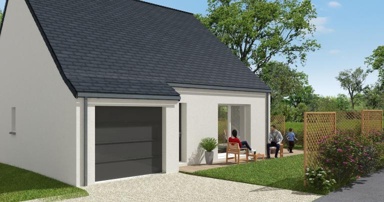 Constructeur maison individuelle Loire Atlantique | Maison 2 chambres