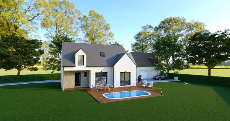 Kerozan - 117 m² - 3 chambres