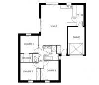maison marin plan 2DMaisons de l'Atlantique