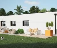maison moderne Galerne arrière | Constructeur 44
