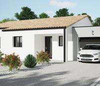 Maison plain-pied Tivano toit tuile | Maisons de l'Atlantique
