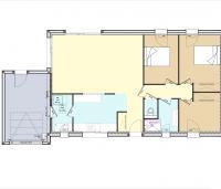 Constructeur maison individuelle Loire Atlantique | Plan maison 2 chambres