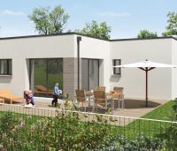Maison contemporaine | Toit terrasse | Maison 3 chambres | Loire Atlantique