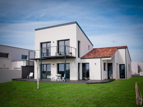 Magnifique maison moderne à étage